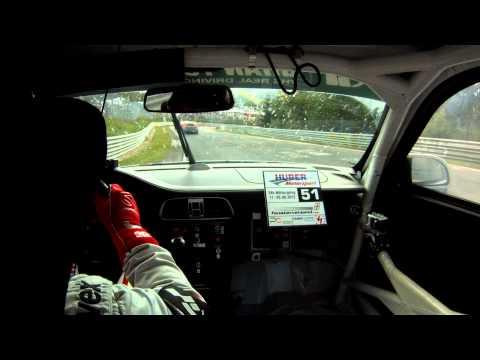 Nissan GT-R vs Porsche GT3 Cup - 2012 Nurburgring 24h