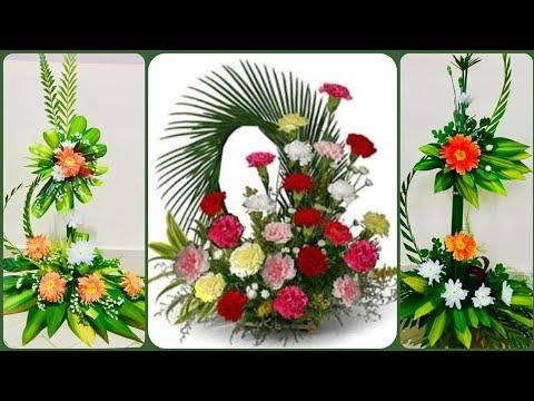 new latest beautiful fresh flower arrangement home decoration bouquet collection