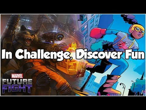 In Challenge, Discover Fun - Marvel Future Fight