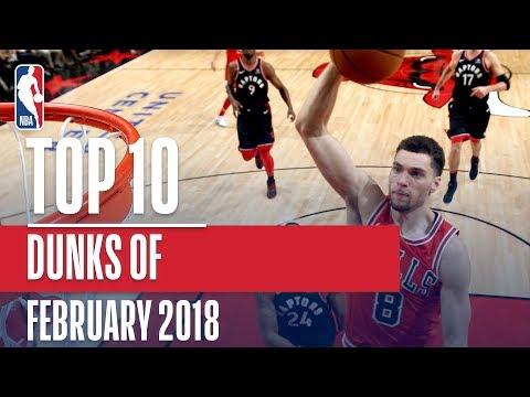 Top 10 Dunks of February 2018
