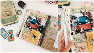 Junk Journal With Me | Episode 37 | Journaling Process Video