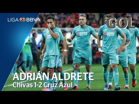 Chivas 1 - [2] Cruz Azul (A. Aldrete 42')