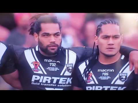 World's greatest pre-match cultural challenge in sports history - New Zealand v Tonga RLWC2017