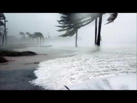 Regengeräusche ,  Klang des Sturms geräusch von regen , gewitter Lärm  , Meeresrauschen