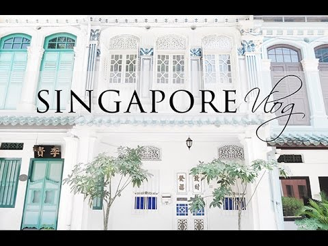 Singapore Vlog | Apartment Tour, 7 Course Meals & Catching The Flu