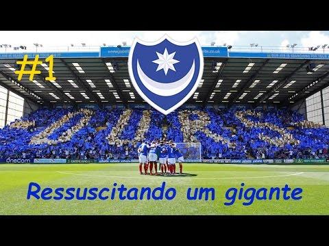 FIFA 16 -  Carreira Treinador Portsmouth FC - O Início! [EP01T01]
