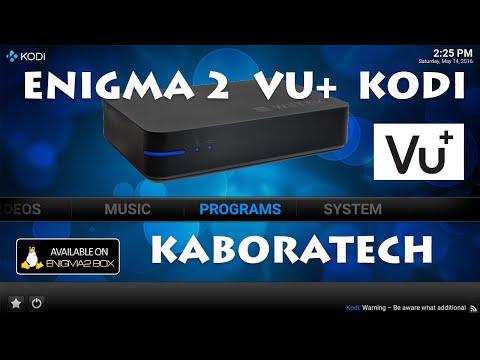 VU+ Enigma 2 SETUP for  Kodi