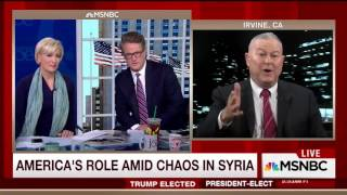Morning Joe and Dana Rohrabacher Get in Yelling Match Over Russia