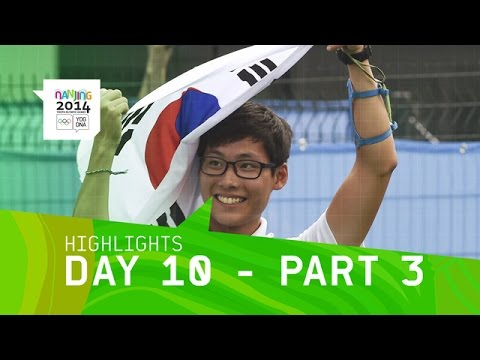 Best of Day 10 - Part 3 | Nanjing 2014 Youth Olympic Games