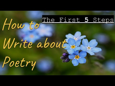 """Explicating Poetry: A Case Study on Millay's """"I shall forget you presently, my dear"""""""