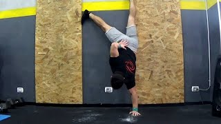 The Only Athletes That Did a One Arm Handstand Push Up