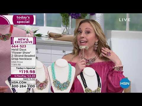 HSN   Heidi Daus Jewelry Designs . https://pixlypro.com/c7tvteO