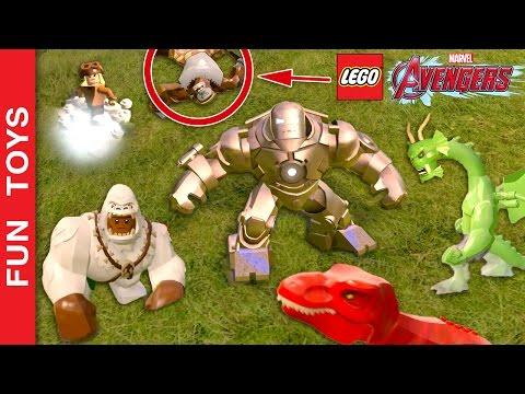 Os 10 personagens que eu acho mais Diferentes e Divertidos do Jogo Lego Marvel's Vingadores Gameplay