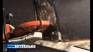 В Борисове ликвидировали ЧС — пока учебную  Запад 2013