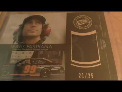 Mail Call Shopping On Ebay!! Press Pass Travis Pastrana Autograph, Jeffery Earnhardt and More!!