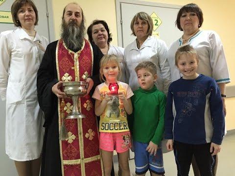 Представители Вологодской епархии посетили областную детскую больницу