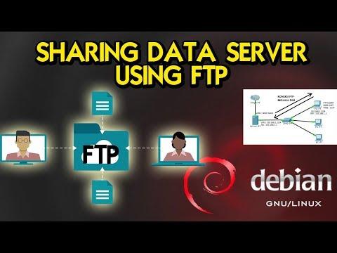 TUTORIAL DEBIAN: MEMBUAT FTP SERVER UNTUK SHARING FILE (with DNS Connection)