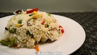 Bengali Fried Rice - Recipe by Foodie's Hut # 0050