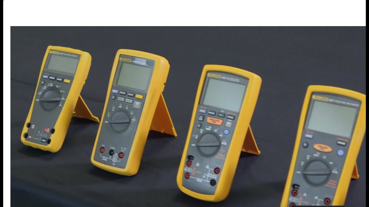 Selecting the best Fluke digital multimeter for a residential or commercial  workplace
