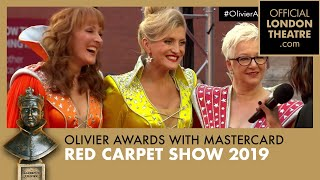 Olivier Awards 2019 with Mastercard Red Carpet Show