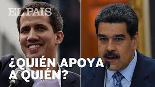 GUAIDÓ o MADURO: ¿Quién apoya a quién en VENEZUELA?