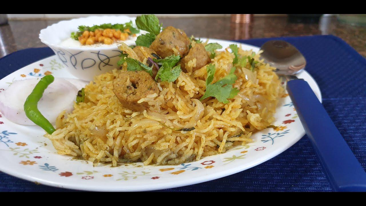 Kebab Rice Pulao