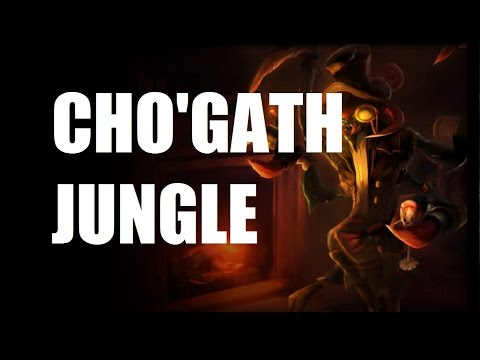 League of Legends - Cho'gath Jungle - Full Game Commentary