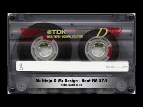 MC Ninja & MC Design - Heat FM 87.9 BIRMINGHAM UK