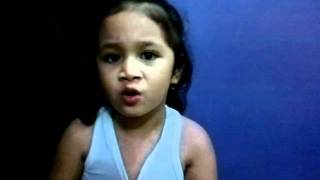 2 yr. old Lyean Alieh singing PRICE TAG by Maddi Jane