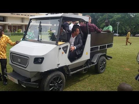 Africa's First Solar Powered 4X4