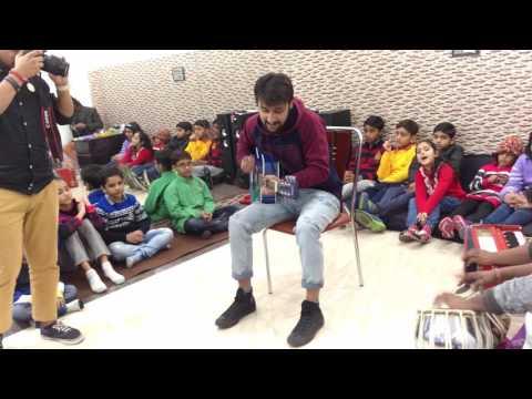 Guitar Mashup - Performance at Tansen Sangeet Mahavidyalaya Noida Sec 122