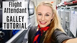 Boeing 737 GALLEY TUTORIAL! Domestic Flight (Flight Attendant Life, 2019)