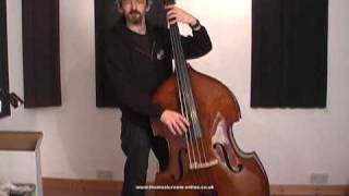 The Stentor 1950 Double Bass