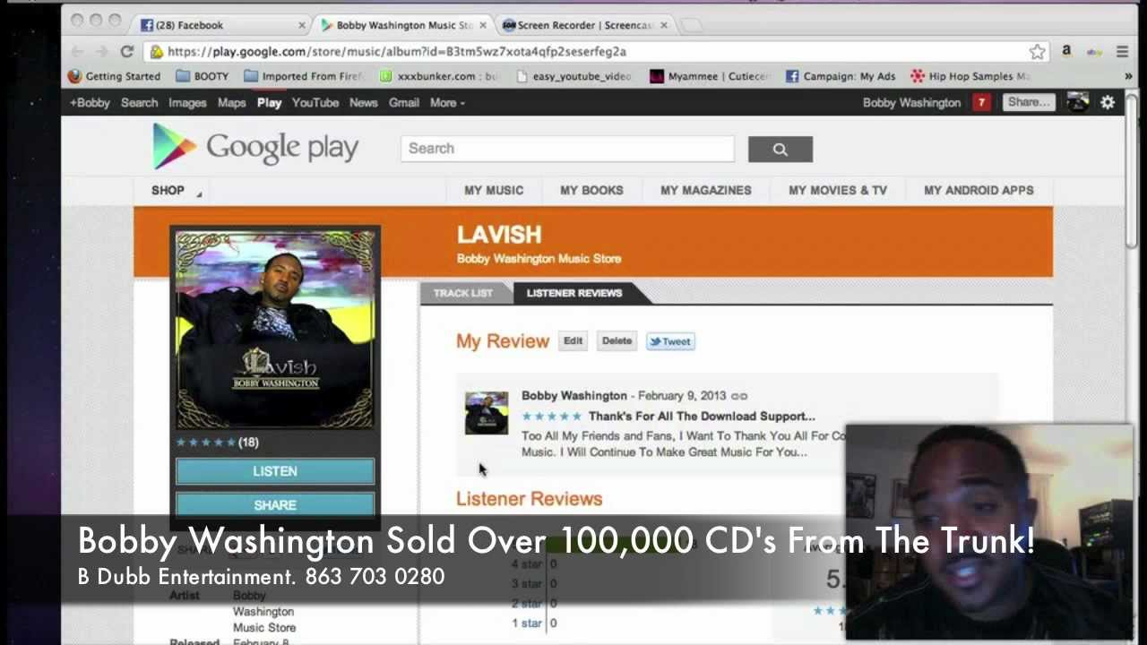 Google Play - Soul Artist Bobby Washington Explains His Success