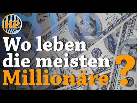 Wo leben die meisten Millionäre - Top 11 Länder (2017)
