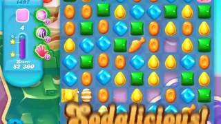 Candy Crush Soda Saga Level 1497 - NO BOOSTERS