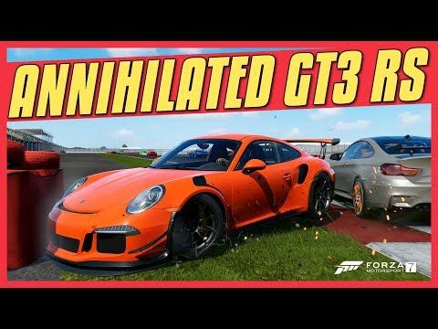 Forza 7 Online | RARE PORSCHE 911 GT3 RS GETS ANNIHILATED