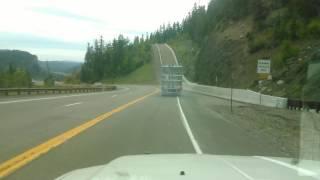 Runaway Truck On US 160 Wolf Creek Pass