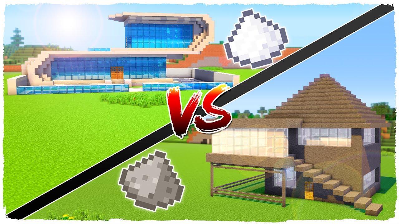 casa de azcar vs casa de plvora minecraft