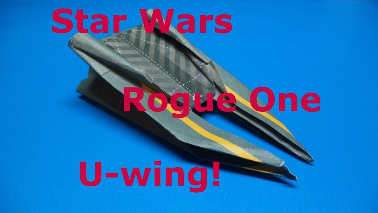 Origami STAR WARS X-WING - How to make ? - YouTube | 720x1280