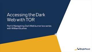 Accessing the Dark Web with TOR on a Ubuntu Virtual Machine