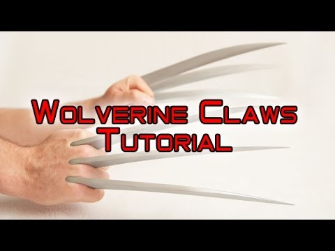Wolverine Claws Assembly Instructions July 2014