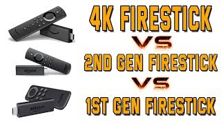 4K FIRESTICK 'VS' 2ND AND 1ST GEN FIRESTICKS  |  Is The 4k Firestick Better Than The Others?