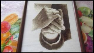 """Вышивка крестом. Оформленные """"свадебные руки"""" от Вервако"""
