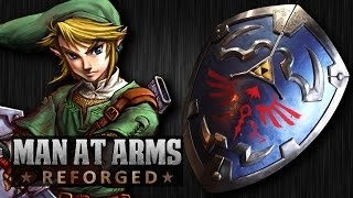 Link's Hylian Shield (Legend of Zelda)  - MAN AT ARMS: REFORGED