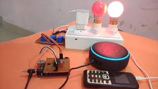 Gambar cover Alexa controlled Home Automation using Arduino and Wi-Fi Module