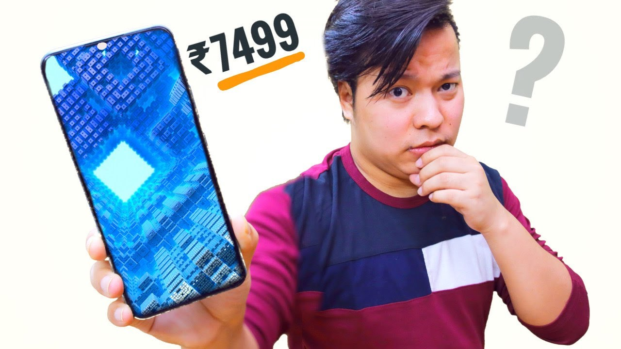 Unboxing The ₹7,499 Smartphone 😳😳 ??