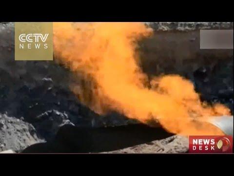 Explosion halts flow of Turkey-Iran gas pipeline