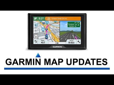 Updates Garmin GPS
