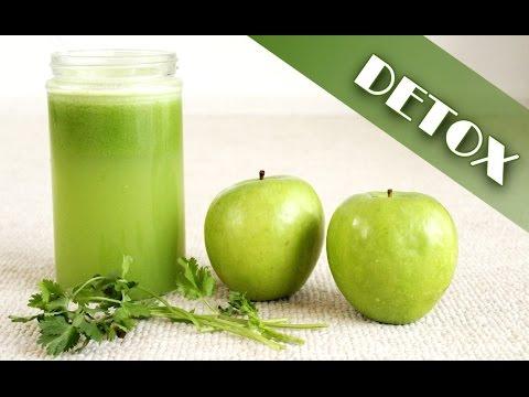 Ingredientes para hacer jugo verde para adelgazar